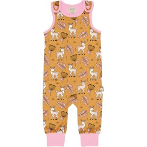 Aw20 Meyadey Poppy Deer Playsuit