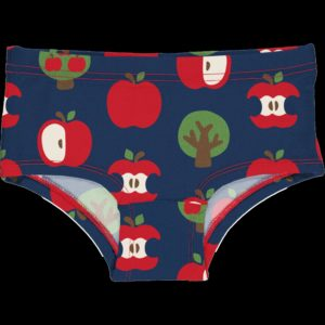 Aw20 Maxomorra Apple Print Hipster Briefs