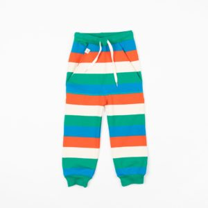 Alba of Denmark Kristoffer Pants - Pepper Green Love Stripe