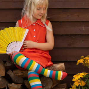 Alba of Denmark Alba Tights - Tivoli Fun Stripe
