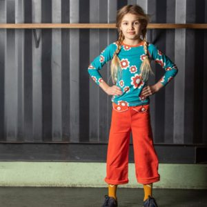 Alba of Denmark Spicy Orange Flower Power Pants
