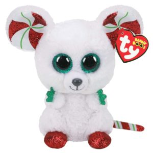 Ty Beanie Boo Chimney the Christmas Mouse