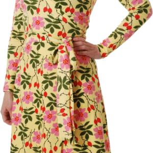 Duns of Sweden Yellow Rosehip ADULT Wrap Dress