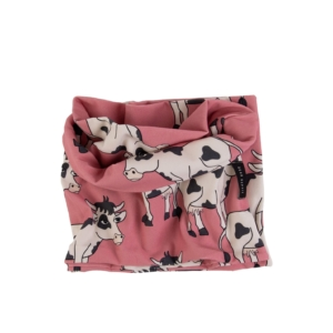 Dear Sophie Cow Pink Snood
