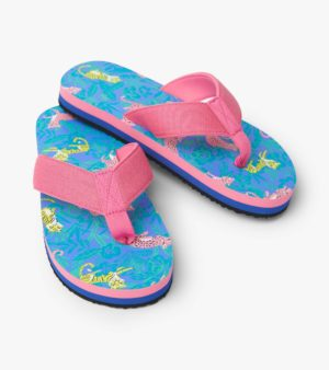 Hatley Jungle Cats Flip Flops
