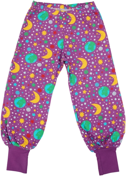 Duns Of Sweden Purple Mother Earth Baggy Pants