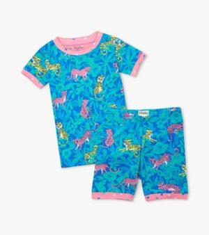Hatley Jungle Cats Organic Cotton Short Pyjamas