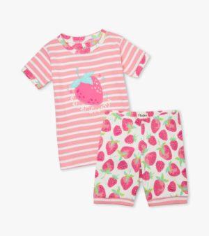 Hatley Delicious Berries Organic Cotton Short Pyjamas