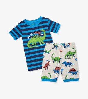 Hatley Friendly Dinos Organic Cotton Short Pyjamas