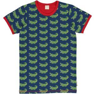 Maxomorra Crocodile Print ADULT Short Sleeve Top