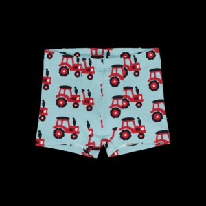 Maxomorra Tractor Print Boxer Shorts