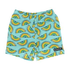 Villervalla Light Reef Rainbow Print Jersey Shorts
