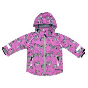 Villervalla Pink Zebra Shell Jacket