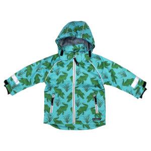Villervalla Turquoise Crocodile Shell Jacket