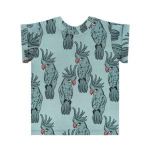 Dear Sophie Blue Parrot Tee Shirt