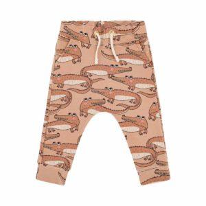 Dear Sophie Brick Red Crocodile Pants