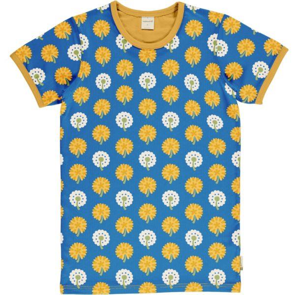 Maxomorra Dandelion Print ADULT Short Sleeve Top