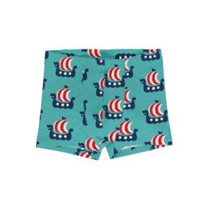 Maxomorra Viking Ship Print Boxer Shorts