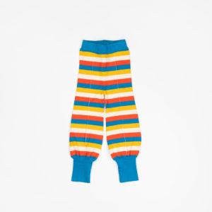 Alba Balloon Tight Pants - Mykonos Blue Stripes