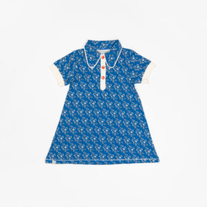Alba Of Denmark Julie Dress - Snorkel Blue Liberty Love