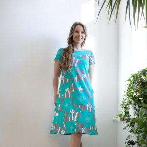 Paapii Turquoise Buttercup Sointu Dress