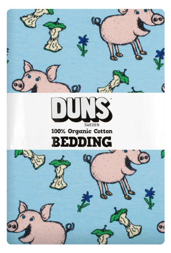 Duns of Sweden Blue Pig New Zealand Bedding Set