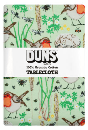 Duns of Sweden Nile Green Robin Tablecloth