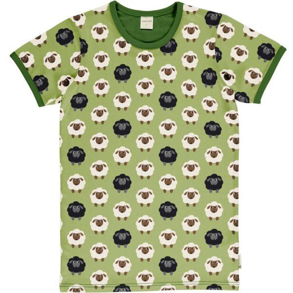 Maxomorra Sheep Print ADULT Short Sleeve Top