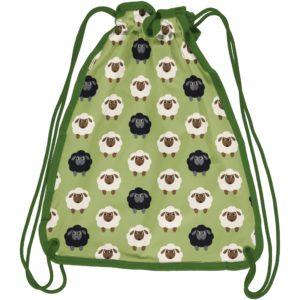 Maxomorra Green Sheep Print Gym Bag