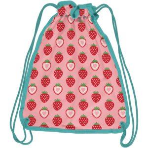 Maxomorra Strawberry Print Gym Bag