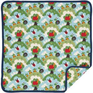 Maxomorra Garden Print Blanket