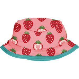 Maxomorra Strawberry Print Sun Hat