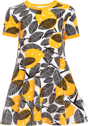 Paapii Lemon Print Sani Skater Dress