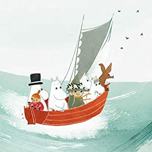 Hype Associates Moomins In A Boat Card