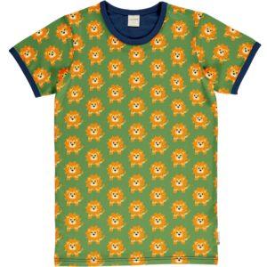 Maxomorra Lion Print ADULT Short Sleeve Top