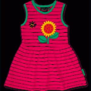 Toby Tiger Sunflower Applique Summer Dress