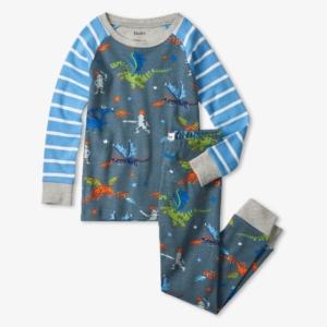 Hatley Knights and Dragons Organic Cotton Pyjamas