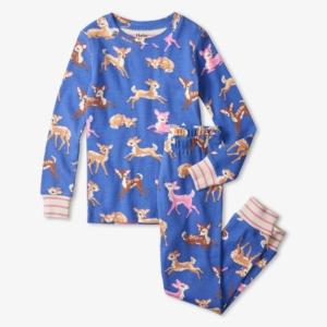 Hatley Sweet Fawns Organic Cotton Pyjamas