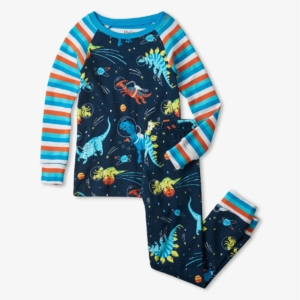 Hatley Space Dinos Organic Cotton Pyjamas