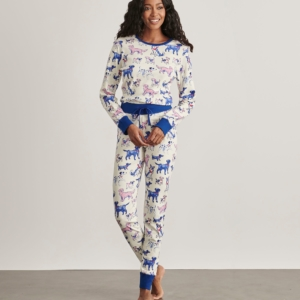 Hatley Pink Pups Women's Organic Cotton Pyjamas