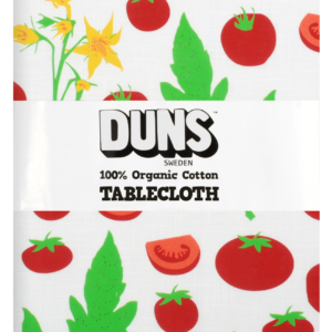 Duns of Sweden Tomatoes Print Linen/Cotton Tablecloth