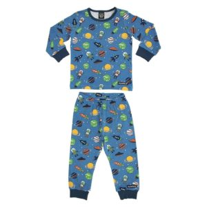 Villervalla Mid Marine Space Print Pyjamas