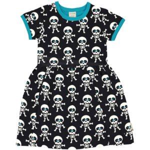 Maxomorra Classic Skeleton Short Sleeve Spin Dress